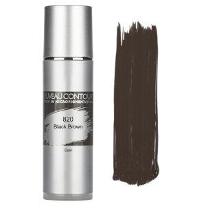 820 - Black Brown - 10 ml